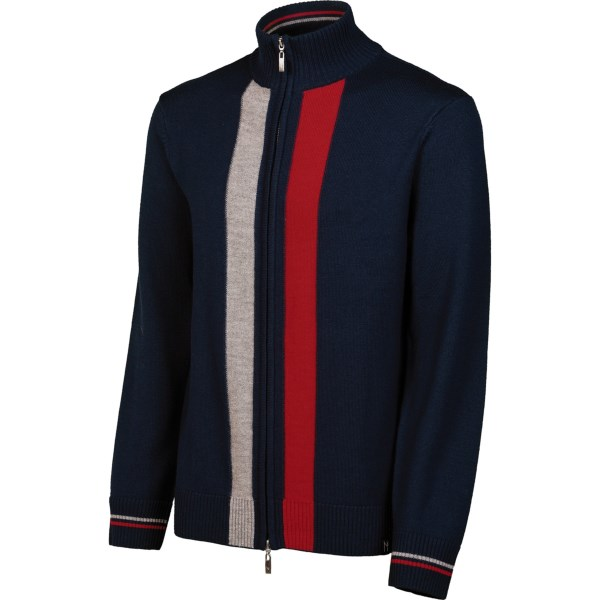 Neve Aiden Cardigan Sweater - Merino Wool, Full Zip (for Men)