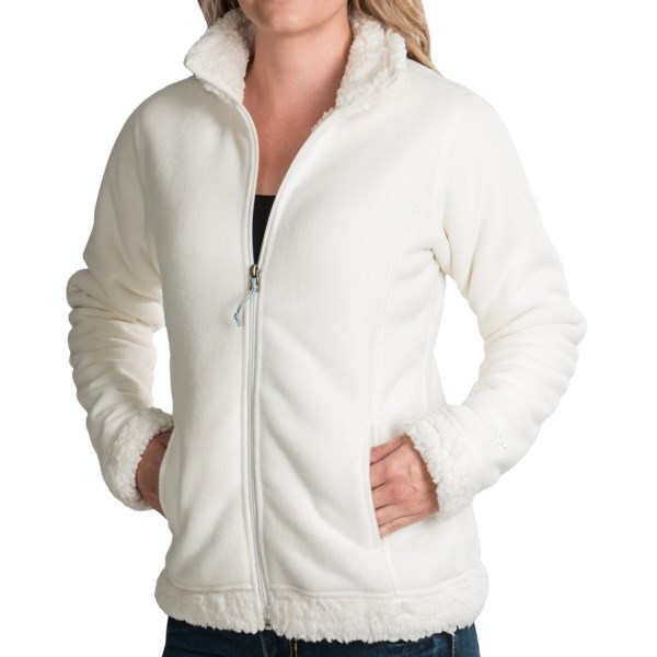 CLOSEOUTS . A cozy mid or outer layer, White Sierraand#39;s Kodiak II Bonded jacket combines a brushed fleece exterior with a high pile fleece interior and detailing at the collar, cuffs and hem. Available Colors: VINTAGE INDIGO, CHARCOAL HEATHER, CLOUD, BLUE INDIGO/BLUE INDIGO, CRUSHED GRAPE/CRUSHED GRAPE. Sizes: S, M, L, XL.