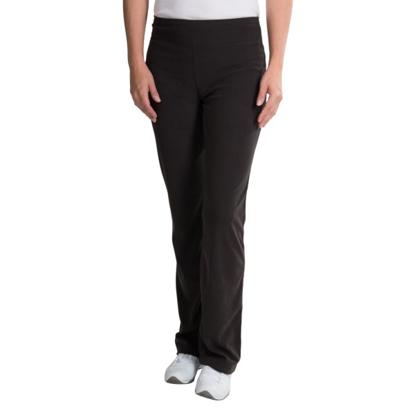 CLOSEOUTS . A cozy choice for lounging or leisure wear, White Sierra's Alpha Tek Microtek fleece pants can be worn alone or layered under a shell for winter play. Available Colors: BLACK. Sizes: S, M, L, XL.