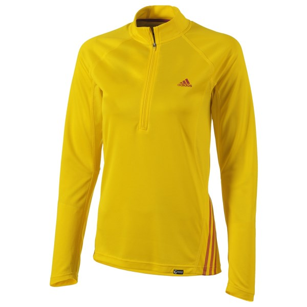 Adidas Terrex Swift Shirt Zip Neck, Long Sleeve (For Women)