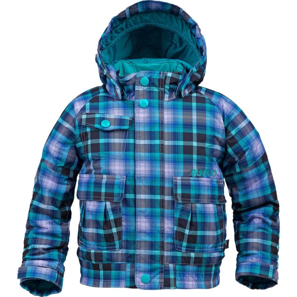 Burton Mini Shred Twist Bomber Snowboard Jacket - Insulated (for Girls)