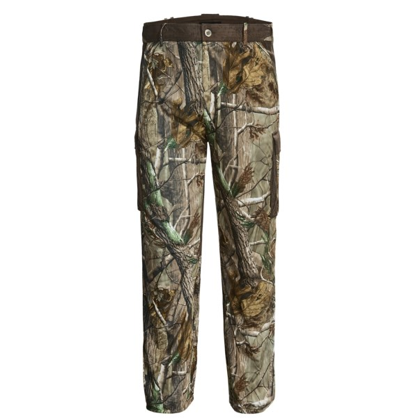 CLOSEOUTS . Rockyand#39;s Broadhead pants are made of supersoft, quiet and moisture-wicking SilentHunter fabric that features scent-neutralizing SIQ Atomic technology to ensure that you get the most out of your hunting trip. Available Colors: REALTREE AP. Sizes: XL, 2XL.