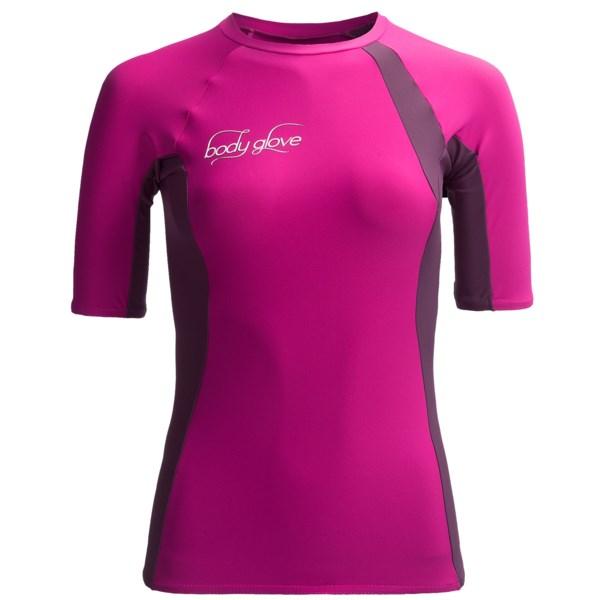 Body Glove High-Performance Rash Guard - Short Sleeve (For Women)
