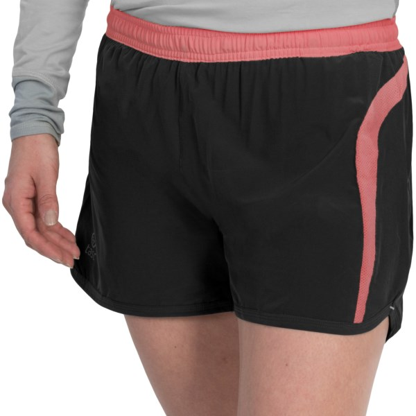 CLOSEOUTS . tascand#39;s Vortex shorts bring comfort to a whole new level, thanks to soft, built-in briefs and a non-restrictive, ultralight exterior with a breezy four-inch inseam. Available Colors: BLACK/SHRIMP, GUNMETAL/SUN. Sizes: XS, S, M, L.