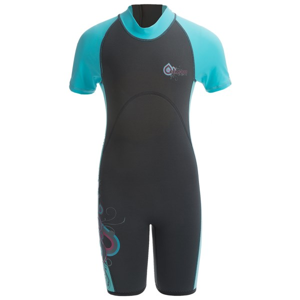 Camaro Mono Wave Jr. Shorty Wetsuit - 0.5mm (For Kids)