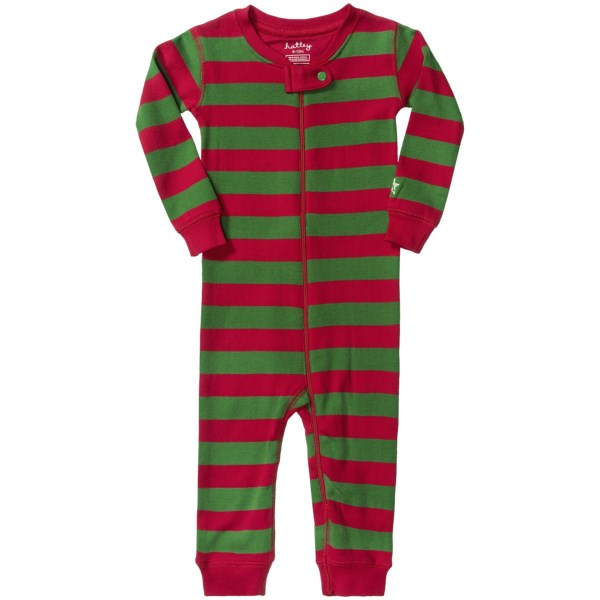 Hatley Zip-up Romper - Cotton  Long Sleeve (for Infants)