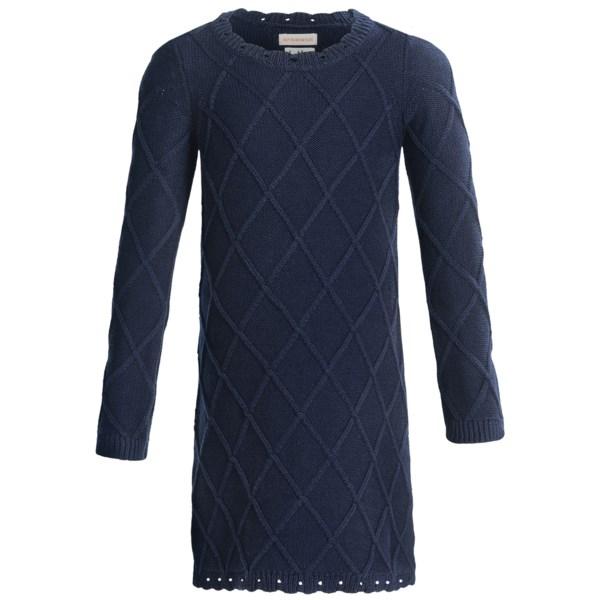 Hatley Sweater-Knit Dress - Long Sleeve (For Girls)