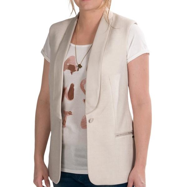 Maison Scotch Blazer Vest (For Women)