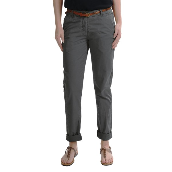 CLOSEOUTS . Youand#39;ll look completely pulled-together and feel 100% comfortable in Maison Scotchand#39;s belted chino pants, garment-washed to create a worn-in look and feel. Available Colors: SAND, PHANTOM.