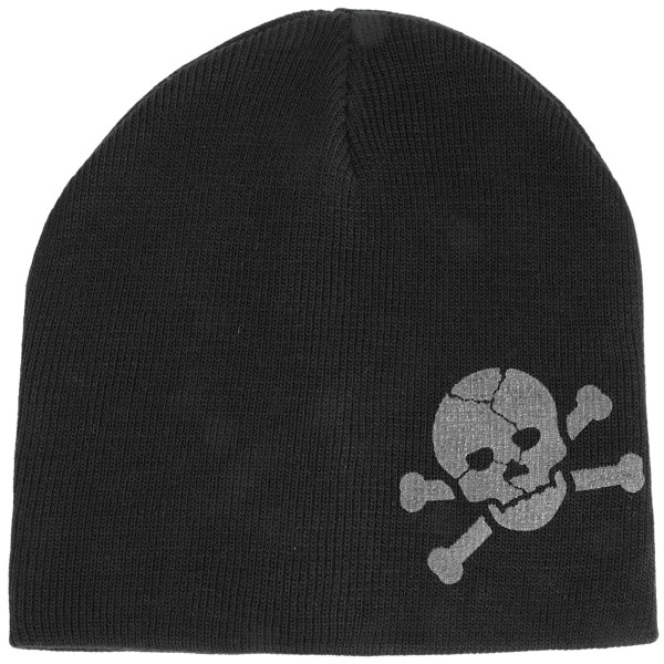 Grand Sierra Printed Skull Beanie Hat (for Boys)
