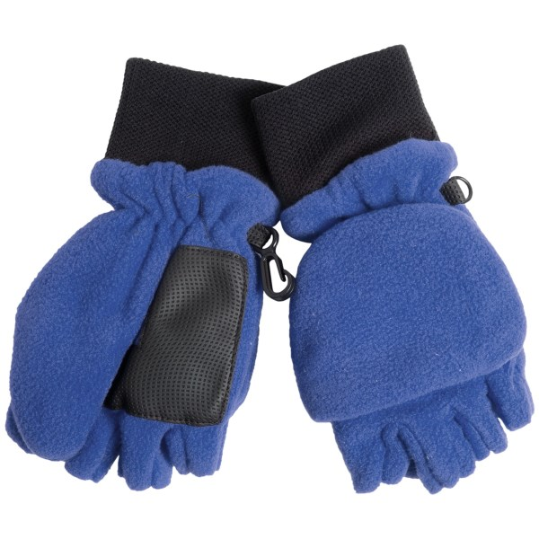 Grand Sierra Pop-Top Mitten Gloves (For Little Boys)