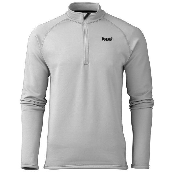 Marker Active Fleece Shirt - Zip Neck, Long Sleeve (For Men)