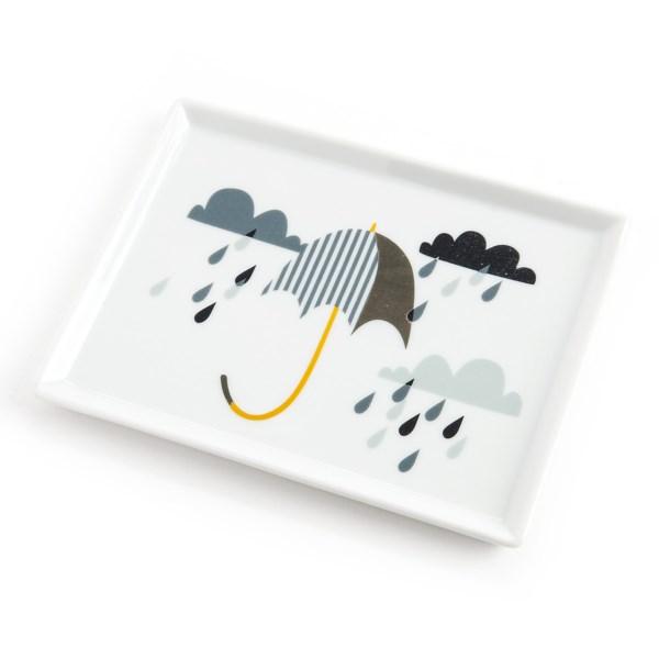 Danica Studio Porcelain Bath Accessory Tray - 5x6.5?