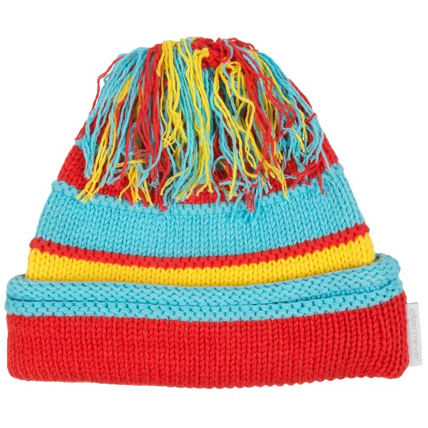 CLOSEOUTS . Pretty, vibrant stripes adorn the soft, tight-knit cotton blend of Obermeyerand#39;s Class hat, a cozy winter must-have with an ear-warming fleece headband lining and fun tasseled top. Available Colors: BLACK, SNOWFLAKE, SUN, YELLOW, DEEP RED, BEETROOT, GRAPE, WHITE, BLUSH, HOT PINK, BLUE RAY SNOWFLAKE PRINT. Sizes: S/M, L/XL.