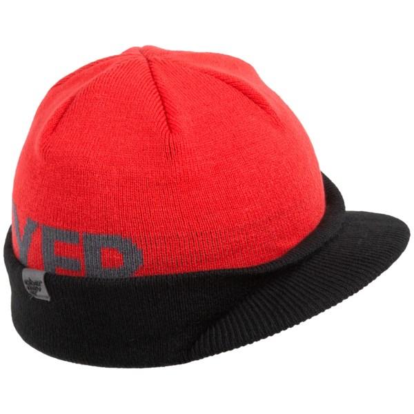 Obermeyer Hipster Beanie Hat - Brimmed (For Little Boys)