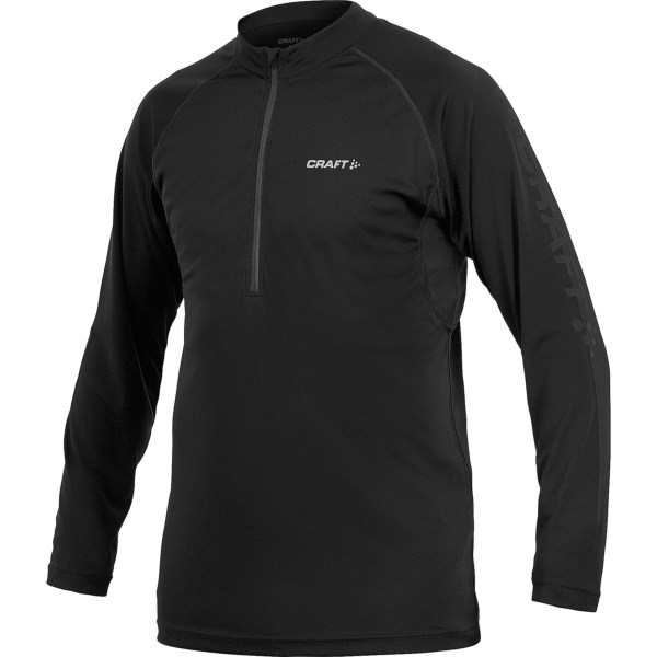 CLOSEOUTS . Craft Sportswearand#39;s Active Run T-shirt is an excellent cool-weather layer for the inveterate runner -- moisture-wicking, ergonomically designed and flattering to the well-trained physique. Available Colors: ROYAL/OCEAN, BLACK. Sizes: S, M, L, XL, 2XL.