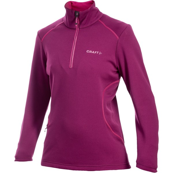 Craft Sportswear Flex Pullover Fleece Jacket Zip Neck (For Women)