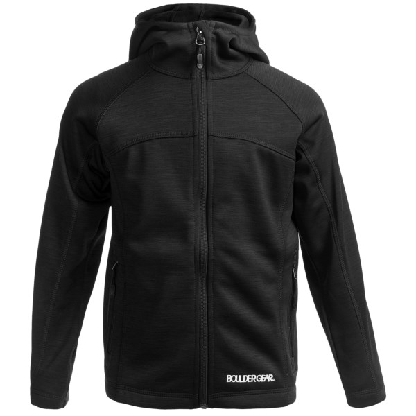 CLOSEOUTS . Simple, stylish and incredibly smooth, Boulder Gearand#39;s Elevation jacket provides lightweight and low-bulk warmth in an understated and impressive design. Available Colors: BLACK, PINK SHOCK, ICE BLUE, PINK RASPBERRY, BLUE JEWEL. Sizes: S, M, L, XL.