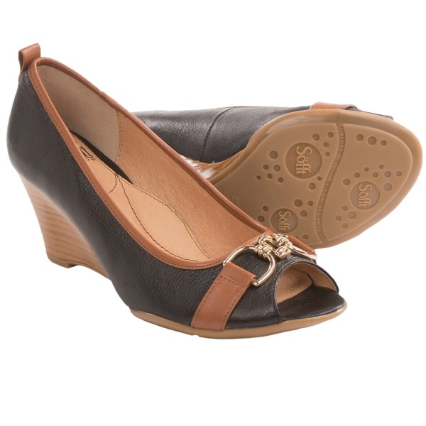 Sofft Camira Heels - Leather, Peep Toe (For Women)