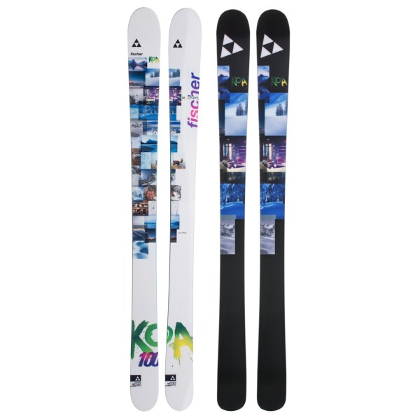 Fischer Koa 100 Alpine Skis (For Women)