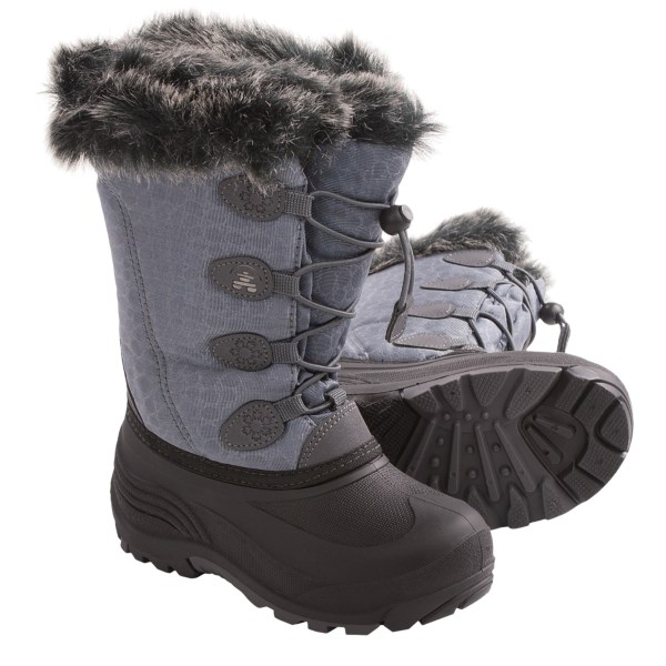 Kamik Snowgyspy Winter Pac Boots (for Little Girls)