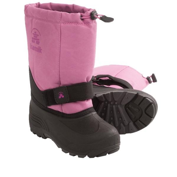 Kamik RocketW Winter Boots - Waterproof (For Youth Girls)