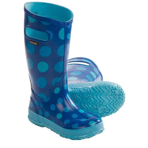 Bogs Footwear Dots Rain Boots - Waterproof (for Kid And Youth Girls)