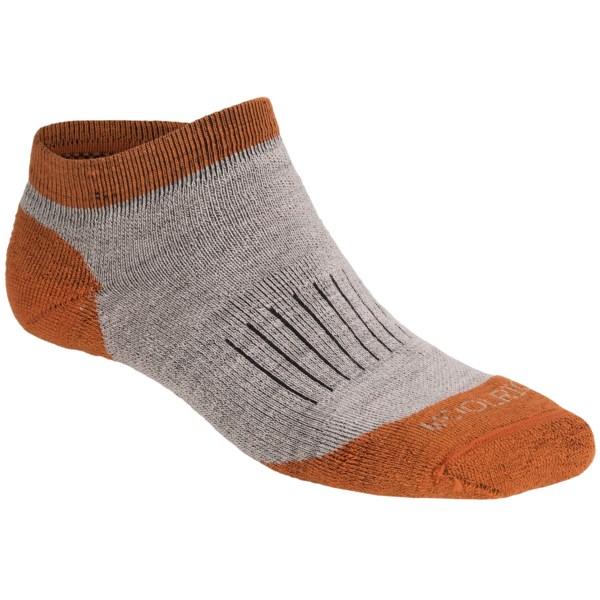 Woolrich Spruce Creek Hiker Socks   Merino Wool  Below the Ankle (For Men)   OATMEAL/RUST (S )