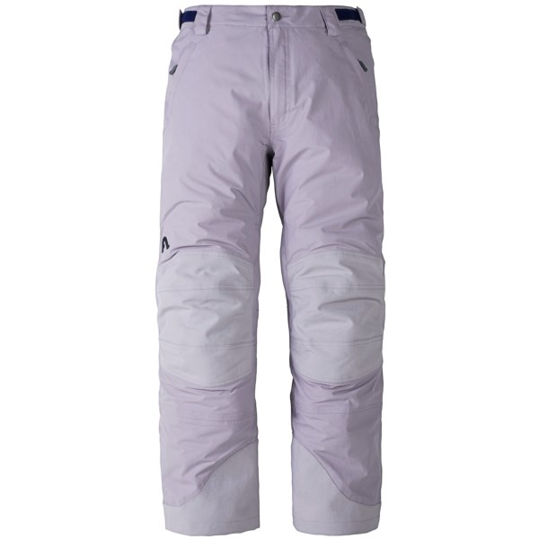 CLOSEOUTS . The companyand#39;s flagship pant, Flylow Chemical ski pants combine snow protection, ventilation and durability. They boast three-layer fabric with a high-performance DWR coating and pass-through inner and outer thigh vents. Available Colors: ICE, BLACK. Sizes: XS, S, M, L, XL, 2XL.