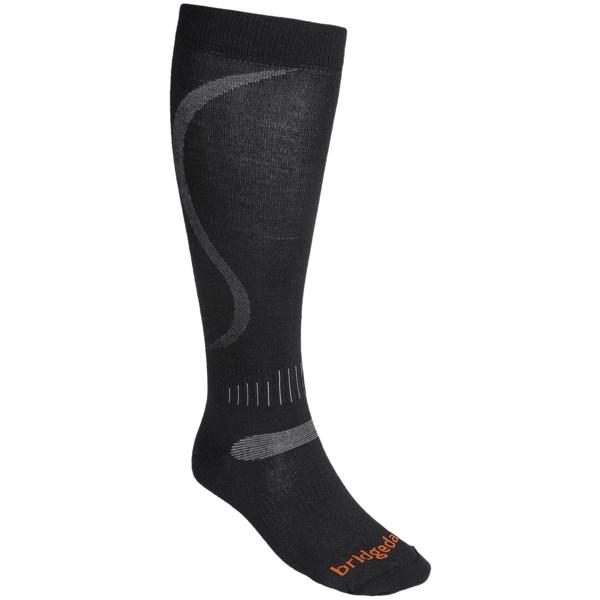 Bridgedale Ultralight Ski Socks - Merino Wool, Over-the-Calf (For Men)