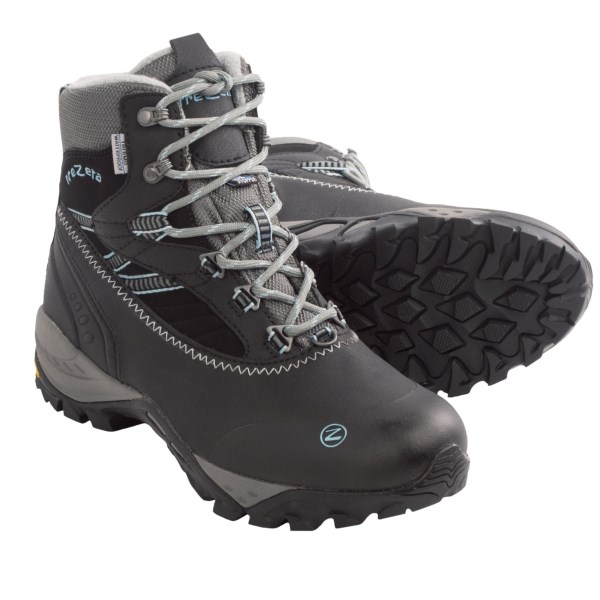 photo of a Trezeta backpacking boot