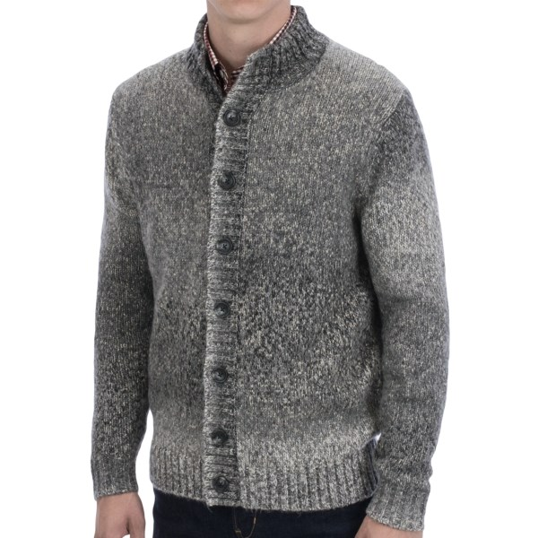 Toscano Space Dye Cardigan Sweater (for Men)