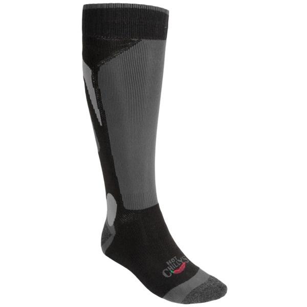 Hot Chillys Mid Volume Socks (For Men)   NAVY/BLACK/CHARCOAL (XL )