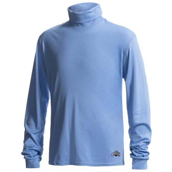Hot Chillys Peachskins Base Layer Turtleneck - Upf 30+  Long Sleeve (for Kids)