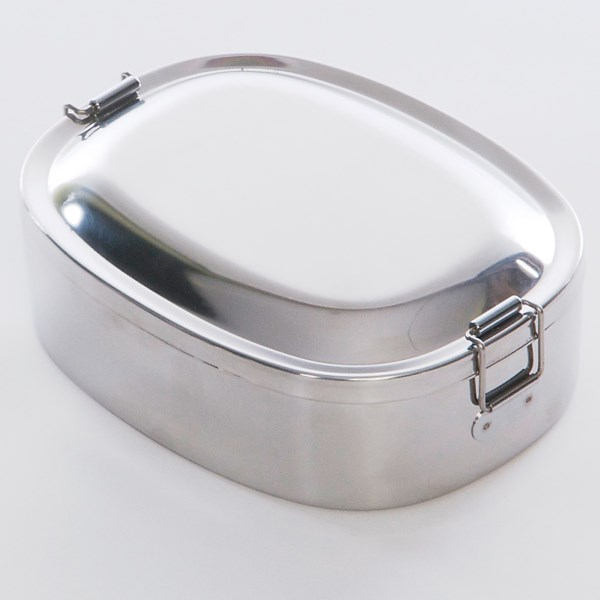 photo: Grand Trunk Zebra Stainless Steel Lunch Box
