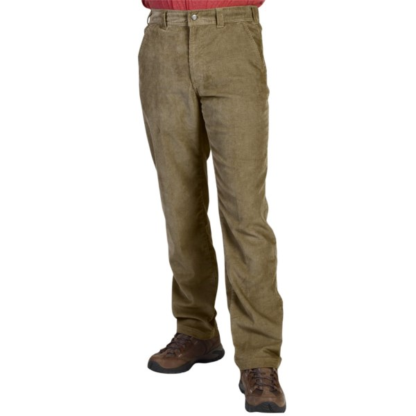 CLOSEOUTS . Perfect for cool weather travel and everyday wear, ExOfficio FlexCord pants are made of extra-comfortable two-way stretch corduroy with classic five-pocket styling. Available Colors: WALNUT, COFFEE, DARK PEBBLE.