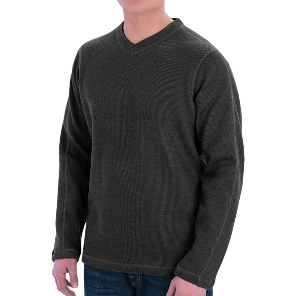 ExOfficio Ruvido V-Neck Sweater (For Men)