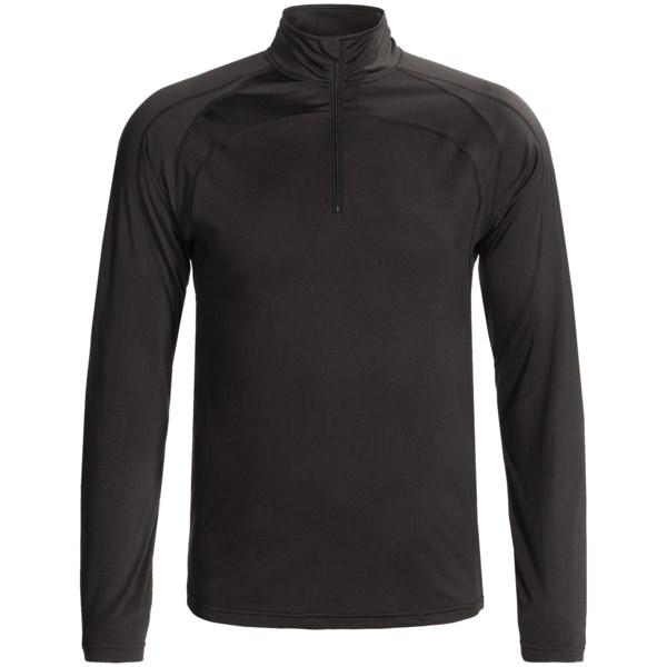 Double Diamond Sportswear Pro Line Shirt - Zip Neck, Fleece Backing, Long Sleeve (For Men)