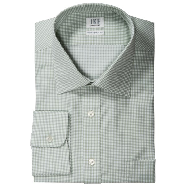 Ike By Ike Behar Check Dress Shirt - No-iron Cotton, Long Sleeve (for Men)