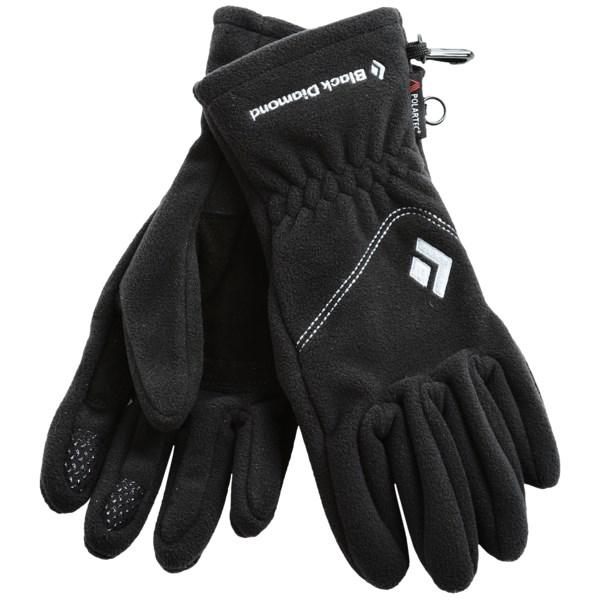 Black Diamond Equipment WindWeight Gloves - Polartec(R) Windbloc(R) (For Women)