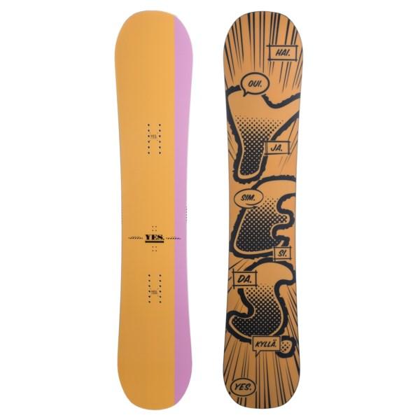 Yes. Tadashi Fuse Pro-model Snowboard