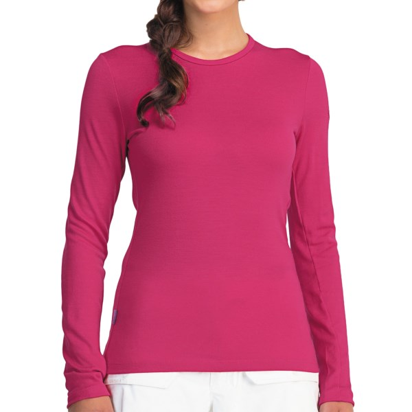 Icebreaker Bodyfit 260 Tech Base Layer Top - Merino Wool, UPF 30 , Midweight, Long Sleeve (For Women)