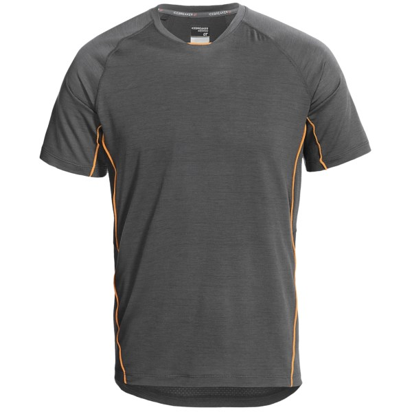 Icebreaker Sonic T-Shirt - UPF 40 , Merino Wool, Short Sleeve (For Men)