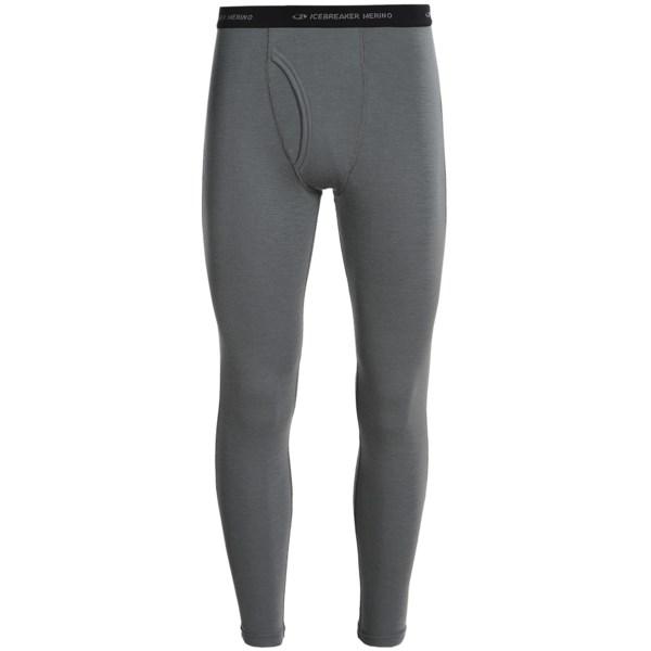 799070e8e2 Icebreaker Everyday Bodyfit 200 Base Layer Bottoms - UPF 20+, Merino Wool  (For