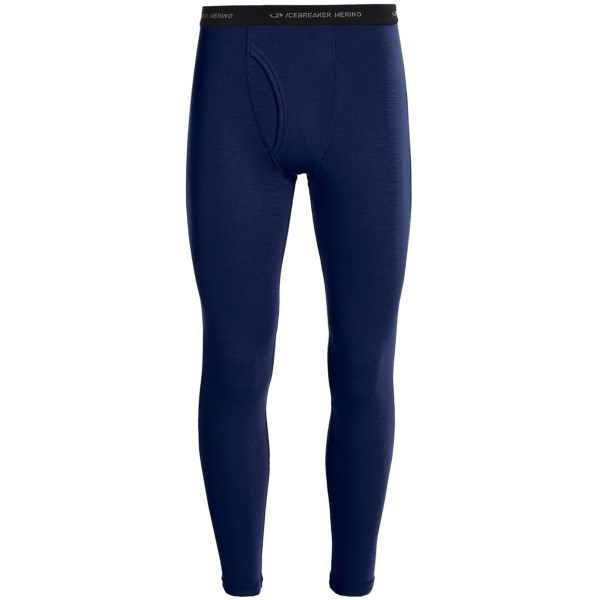Discontinued . Icebreakerand#39;s Everyday thermal base layer bottoms offer moisture-wicking performance and unbeatable softness. Lightweight, temperature-regulating merino wool is odor resistant and makes the perfect first layer for outdoor winter activities. Available Colors: CAVE, PLANET. Sizes: S, M, L, XL, 2XL.