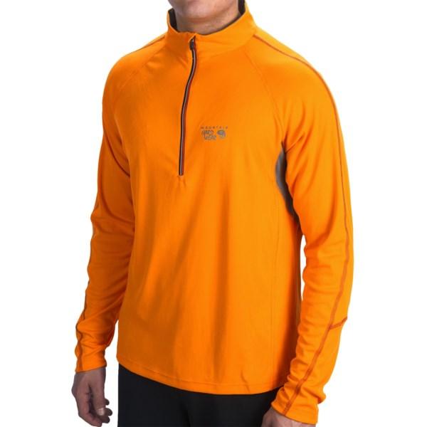 Mountain Hardwear Elmodo Shirt - Zip Neck, Long Sleeve (For Men)