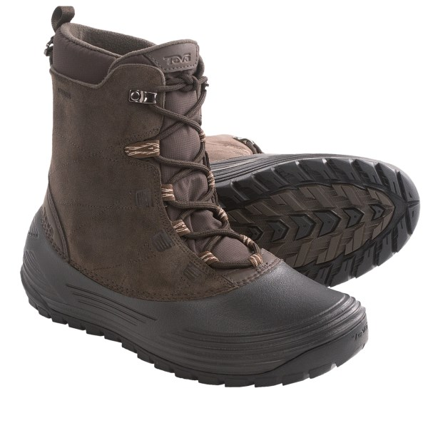 Teva Highline Snow Boots - Waterproof, Insulated (For Men)