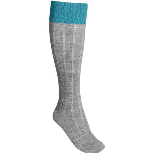 Goodhew Go-To Socks -  Merino Wool-Alpaca, Over-the-Calf (For Women)