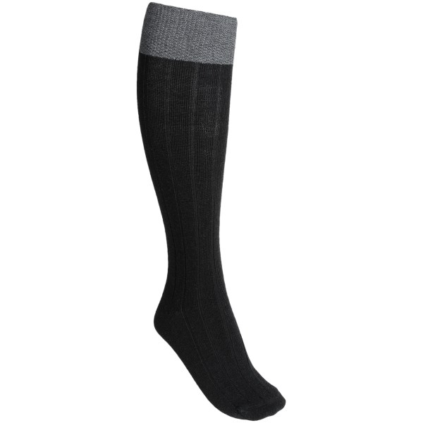 CLOSEOUTS . Knit of a soft, naturally high-performance merino wool-alpaca blend, Goodhewand#39;s Go-To socks provide all-day comfort and feature a contrast-color, pebble-stitched cuff. Available Colors: ESPRESSO, GREY, BLACK. Sizes: S/M, M/L.