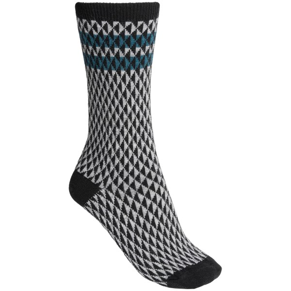 Goodhew Trilogy Socks - Merino Wool-Rayon, Crew (For Women)